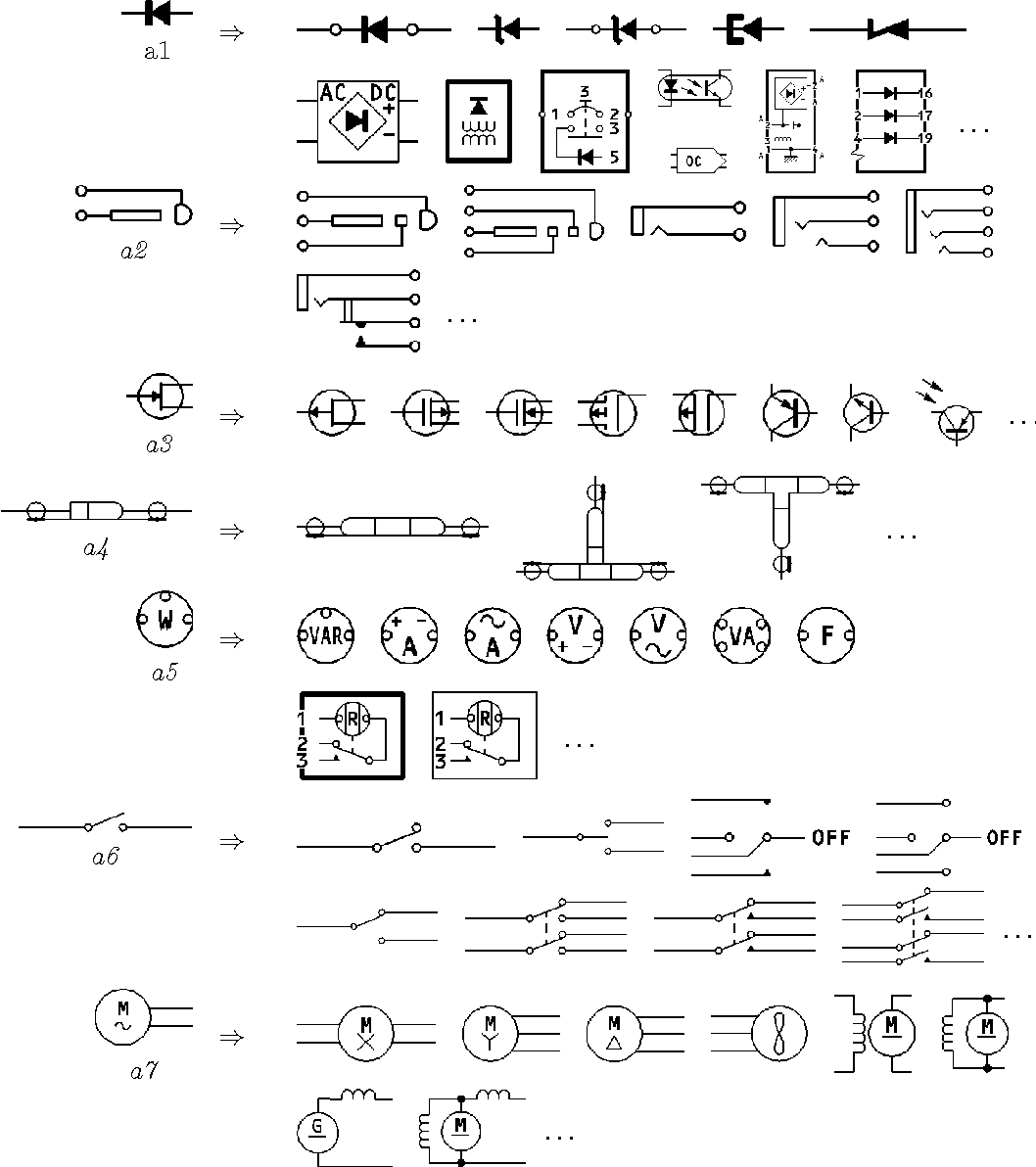 Figure 5 From Symbol Recognition Using Spatial Relations Semantic