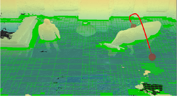 Figure 1 for Multi-Resolution 3D Mapping with Explicit Free Space Representation for Fast and Accurate Mobile Robot Motion Planning