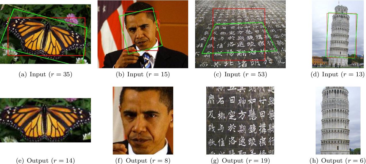 Figure 1 for TILT: Transform Invariant Low-rank Textures