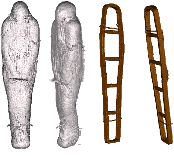 Figure 2 for Weakly Supervised Geodesic Segmentation of Egyptian Mummy CT Scans