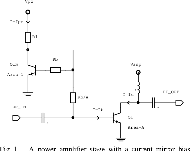 Figure 1 from Bias circuits for GaAs HBT power amplifiers - Semantic