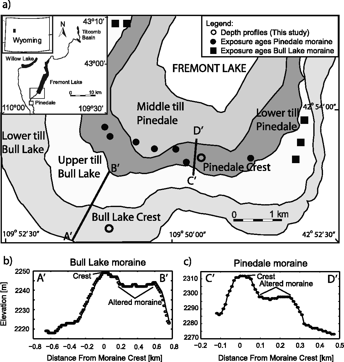 Surface exposure dating of the Great Aletsch Glacier Egesen moraine system, western.