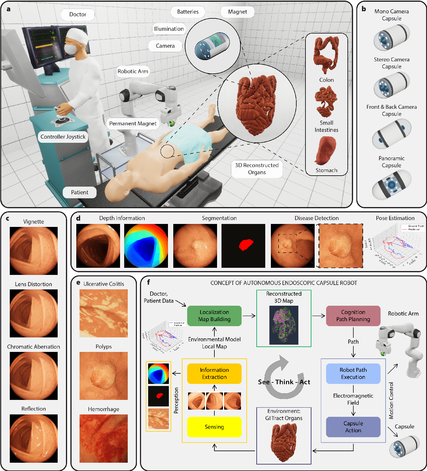 Figure 1 for VR-Caps: A Virtual Environment for Capsule Endoscopy