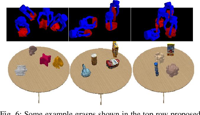 Figure 4 for DDGC: Generative Deep Dexterous Grasping in Clutter