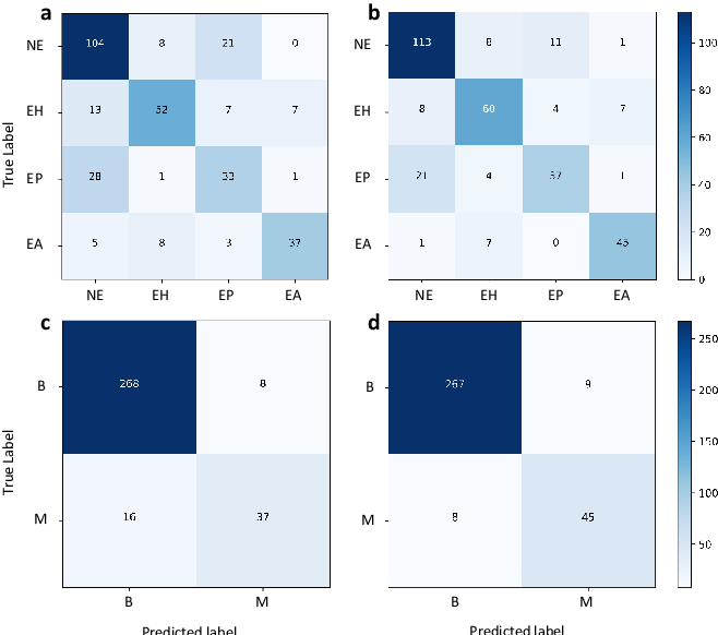 Figure 4 for Computer-aided diagnosis in histopathological images of the endometrium using a convolutional neural network and attention mechanisms
