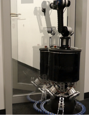 Figure 1 for Whole-Body MPC for a Dynamically Stable Mobile Manipulator