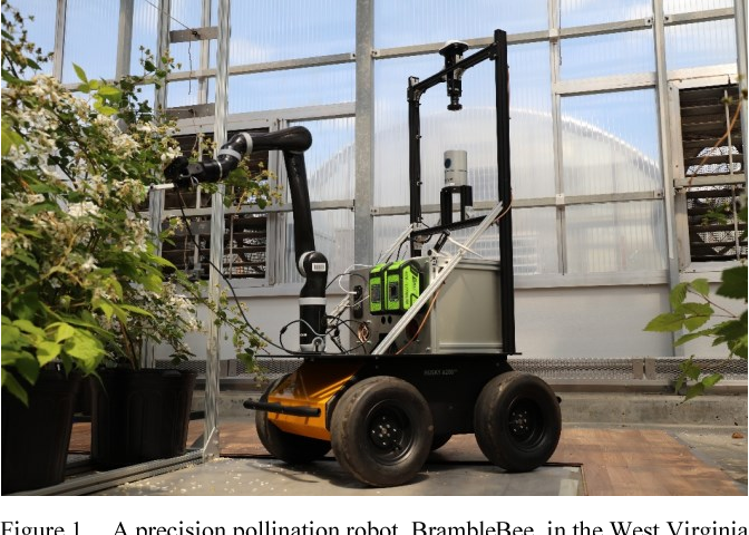 Figure 1 for Design of an Autonomous Precision Pollination Robot