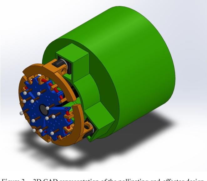 Figure 3 for Design of an Autonomous Precision Pollination Robot