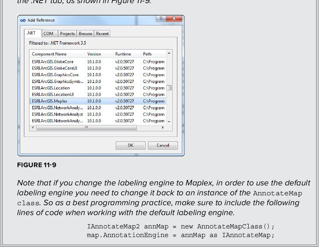 Figure 13-2 from Beginning ArcGIS for Desktop Development