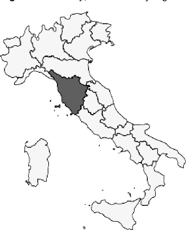 figure 3 from place branding for endogenous development the case Meningitis in Tuscany Italy tuscany a centre italy region