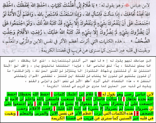 Figure 5 from AreCAPTCHA: Outsourcing Arabic Text Digitization to
