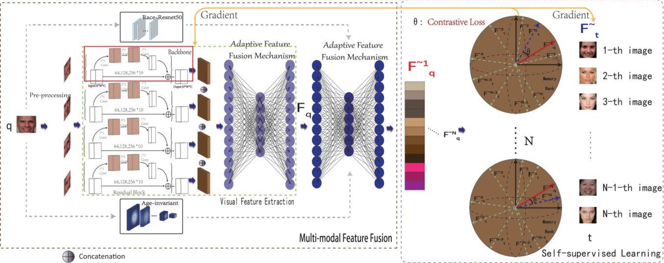 Figure 1 for Deep Collaborative Multi-Modal Learning for Unsupervised Kinship Estimation