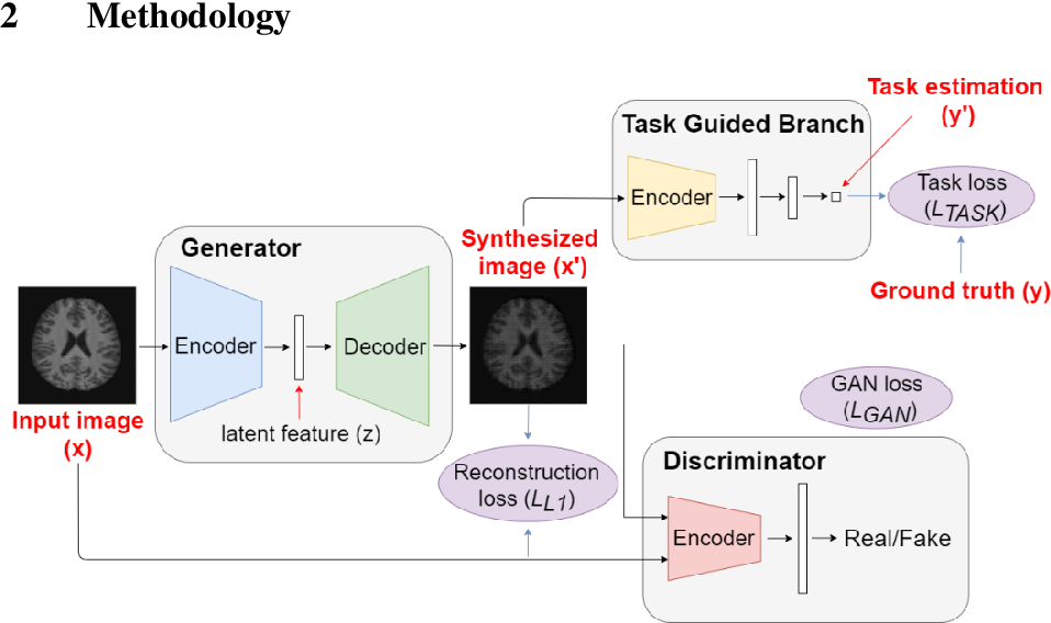 Figure 1 for Image Augmentation Using a Task Guided Generative Adversarial Network for Age Estimation on Brain MRI