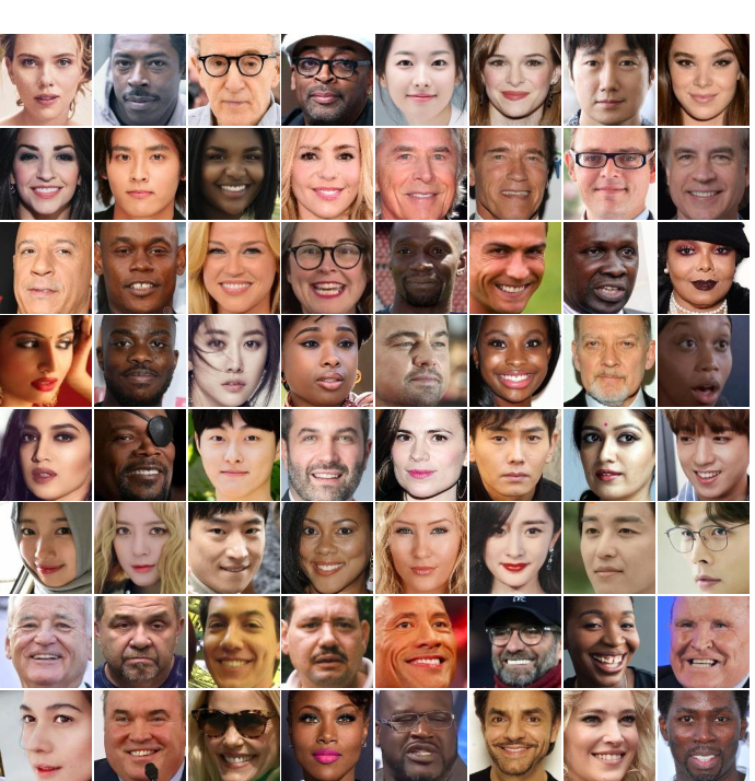 Figure 2 for EDFace-Celeb-1M: Benchmarking Face Hallucination with a Million-scale Dataset