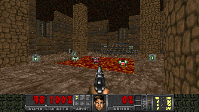 Figure 1 for Playing FPS Games with Deep Reinforcement Learning