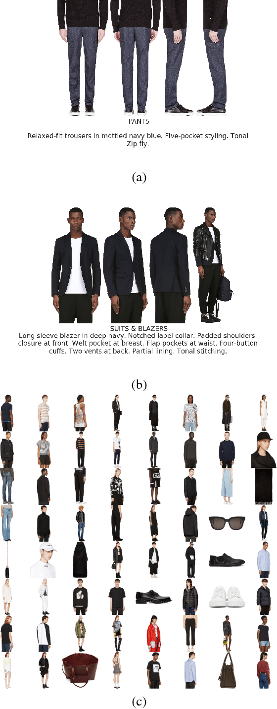 Figure 1 for Fashion-Gen: The Generative Fashion Dataset and Challenge