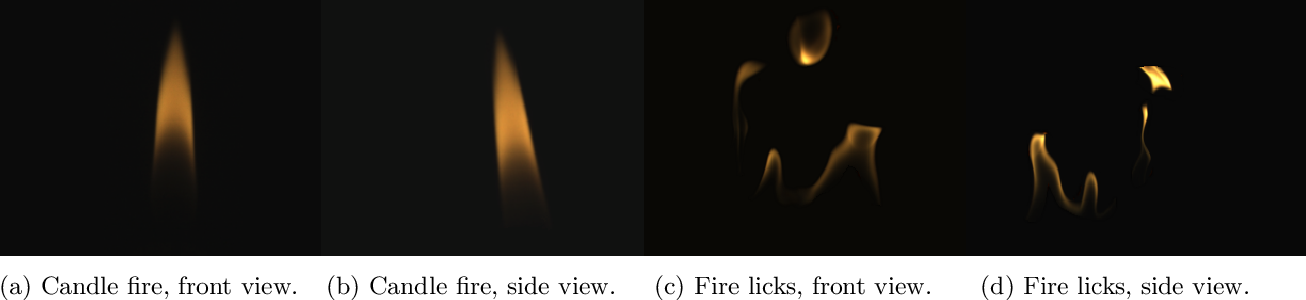 Figure 3 for Physics-driven Fire Modeling from Multi-view Images