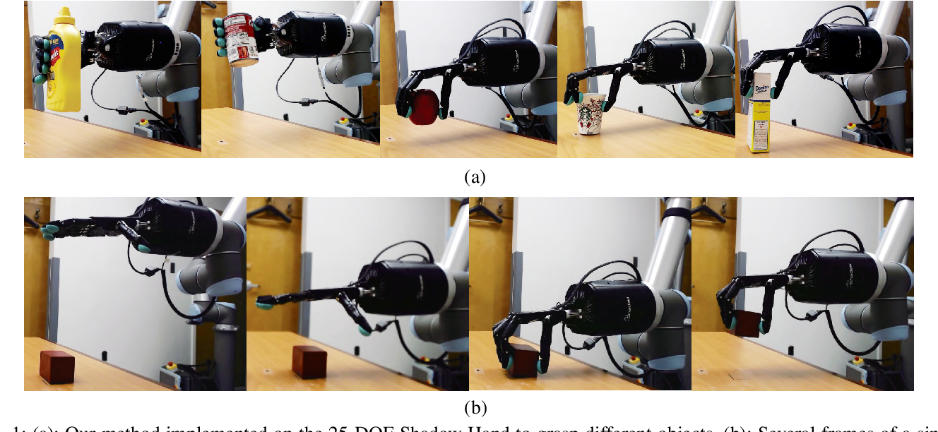 Figure 1 for Generating Grasp Poses for a High-DOF Gripper Using Neural Networks