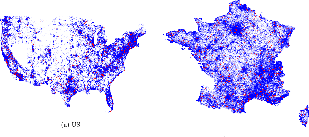 Figure 3 for The GeoLifeCLEF 2020 Dataset