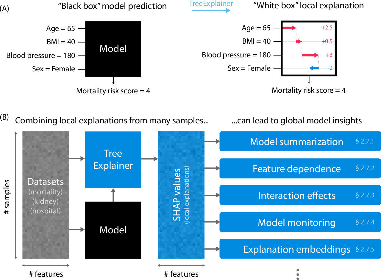 Figure 1 for Explainable AI for Trees: From Local Explanations to Global Understanding