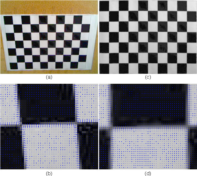 Figure 2 from Accurate camera calibration using iterative