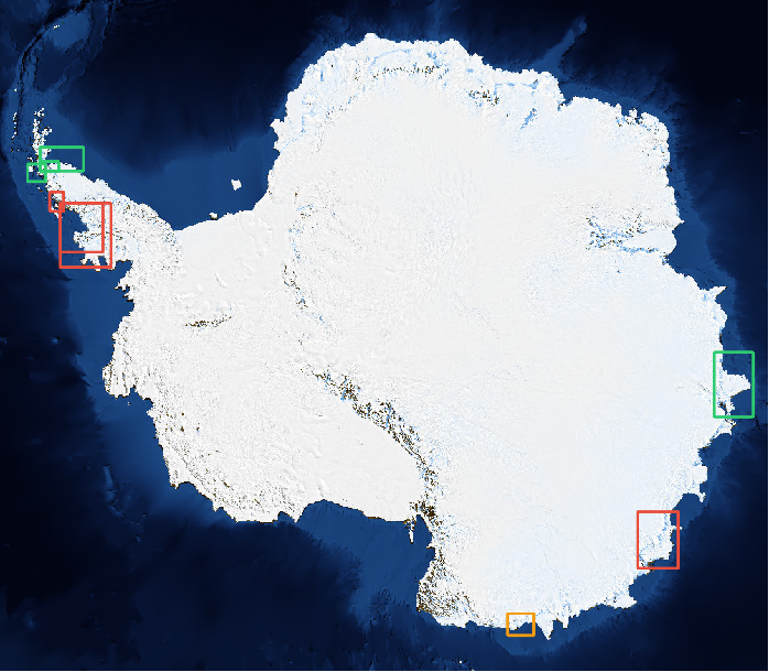 Figure 4 for HED-UNet: Combined Segmentation and Edge Detection for Monitoring the Antarctic Coastline