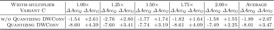 Figure 2 for One Weight Bitwidth to Rule Them All
