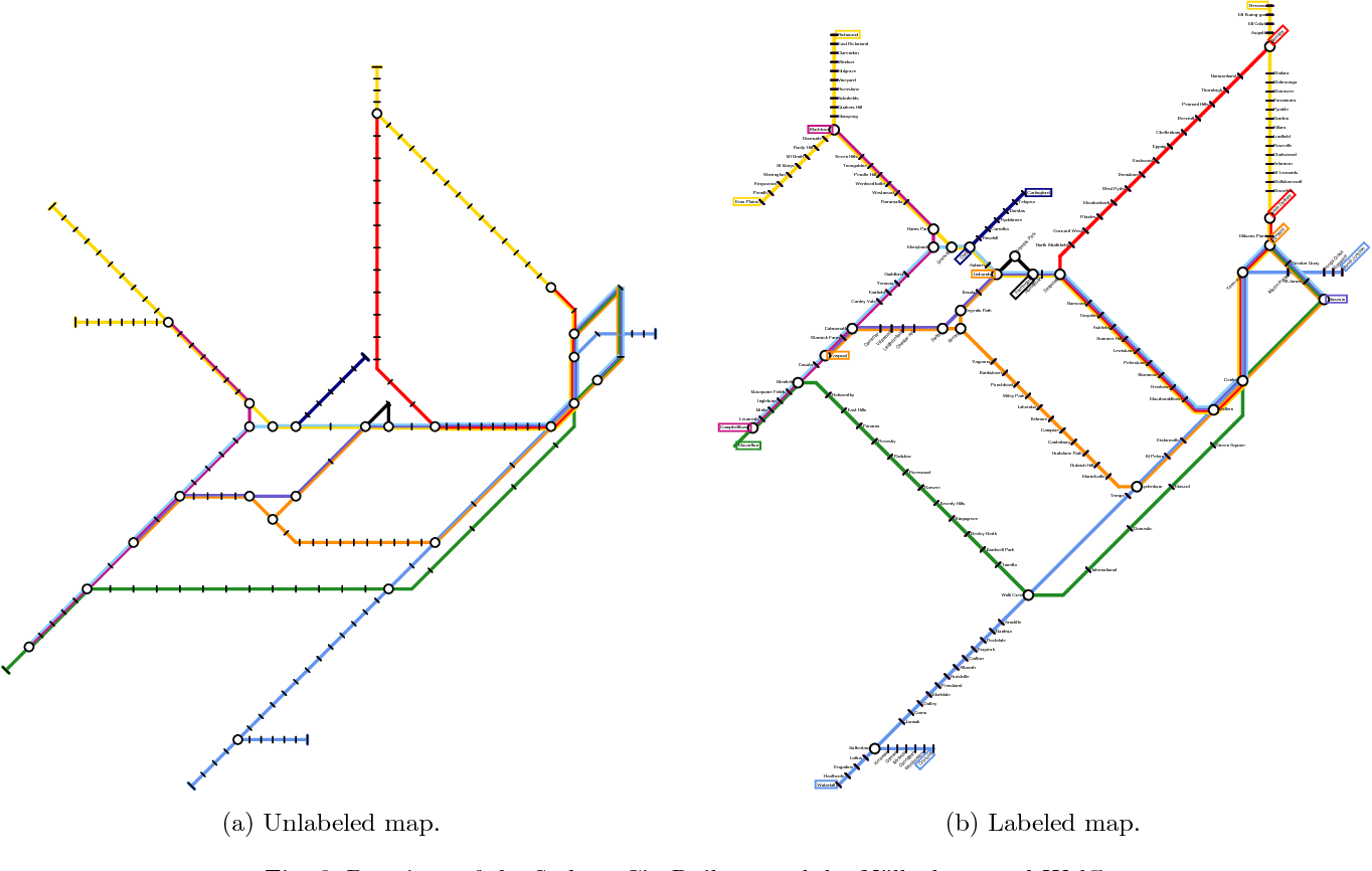Subway Map 6.Figure 6 From Drawing Subway Maps A Survey Semantic Scholar