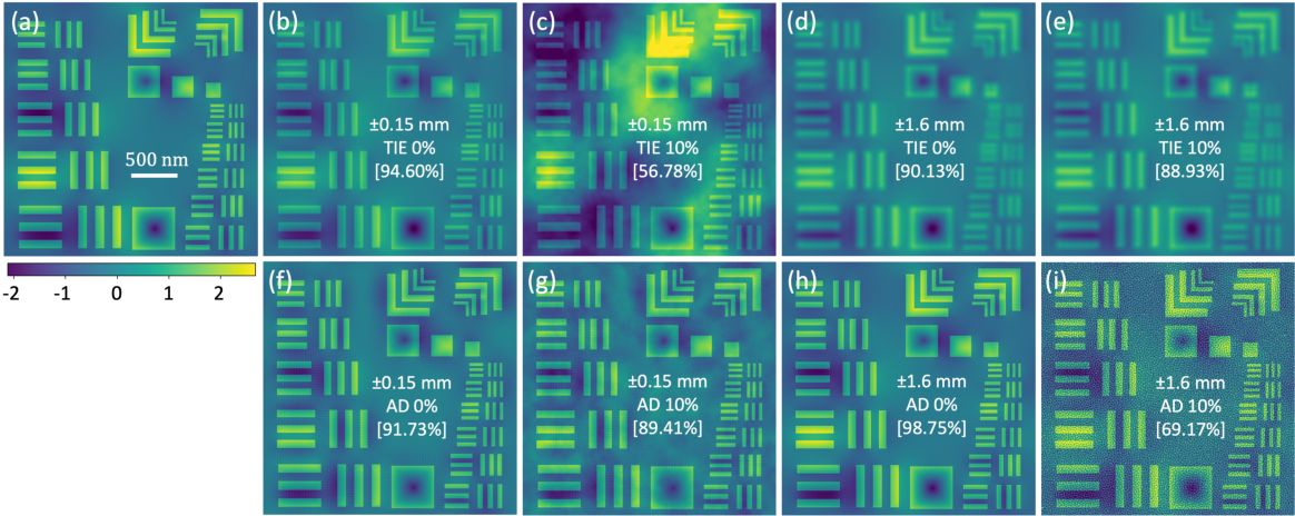 Figure 2 for High resolution functional imaging through Lorentz transmission electron microscopy and differentiable programming