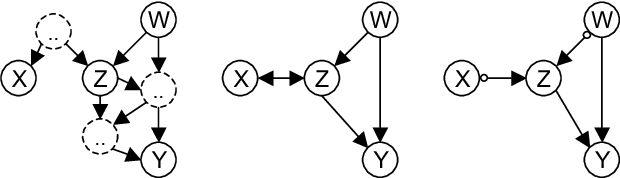 Figure 1 for Learning Sparse Causal Models is not NP-hard