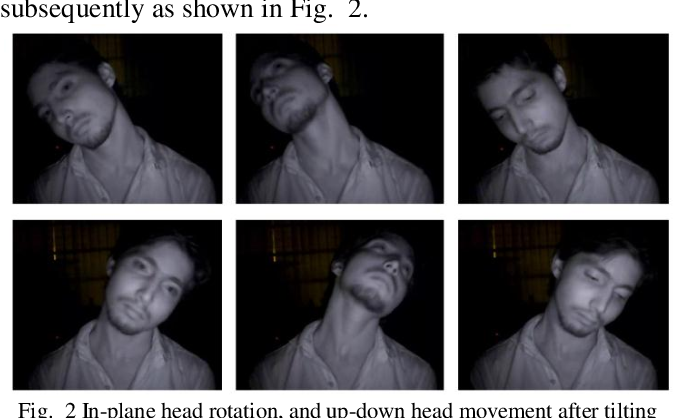 Figure 2 for A Video Database of Human Faces under Near Infra-Red Illumination for Human Computer Interaction Aplications