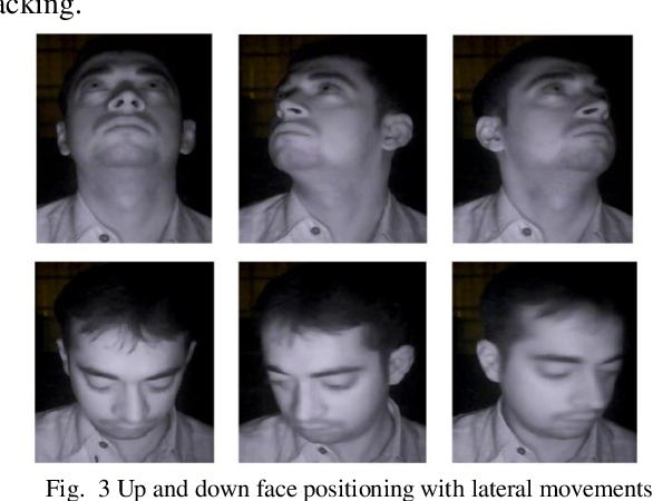 Figure 3 for A Video Database of Human Faces under Near Infra-Red Illumination for Human Computer Interaction Aplications