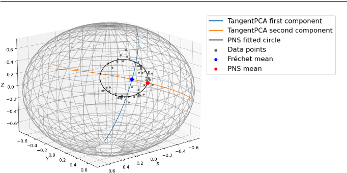 Figure 3 for Non-Euclidean Analysis of Joint Variations in Multi-Object Shapes