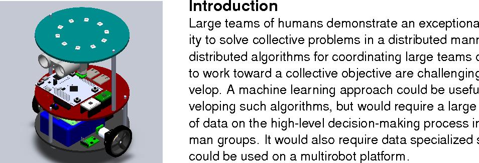 Figure 1 for Multiplayer Games for Learning Multirobot Coordination Algorithms