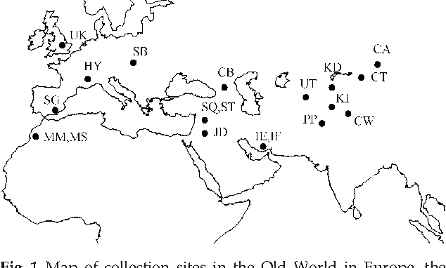 Figure 1 from Phylogeography of a parasitoid wasp (Diaeretiella