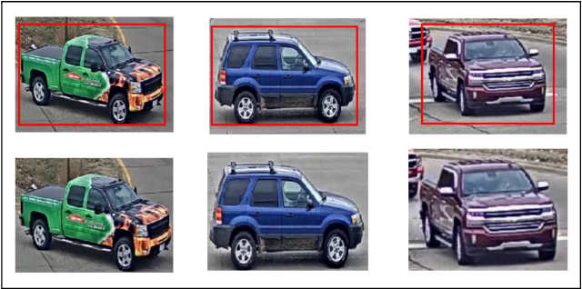 Figure 1 for Vehicle Re-identification Method Based on Vehicle Attribute and Mutual Exclusion Between Cameras