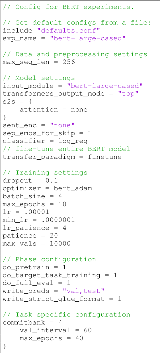 Figure 3 for jiant: A Software Toolkit for Research on General-Purpose Text Understanding Models