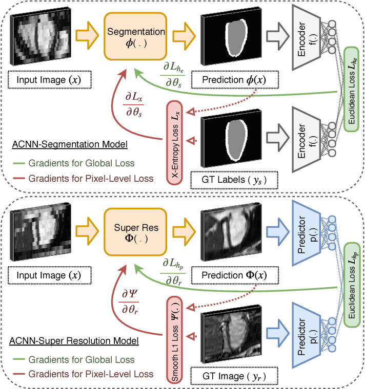 Figure 4 for Anatomically Constrained Neural Networks (ACNN): Application to Cardiac Image Enhancement and Segmentation