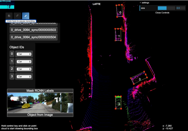 Figure 1 for LATTE: Accelerating LiDAR Point Cloud Annotation via Sensor Fusion, One-Click Annotation, and Tracking