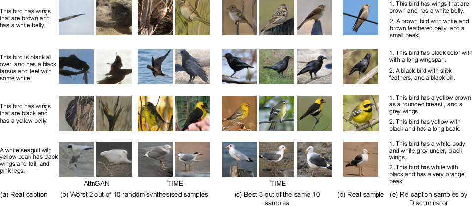 Figure 1 for TIME: Text and Image Mutual-Translation Adversarial Networks