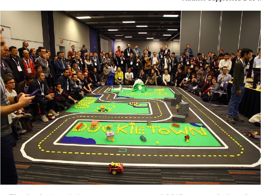Figure 1 for The AI Driving Olympics at NeurIPS 2018