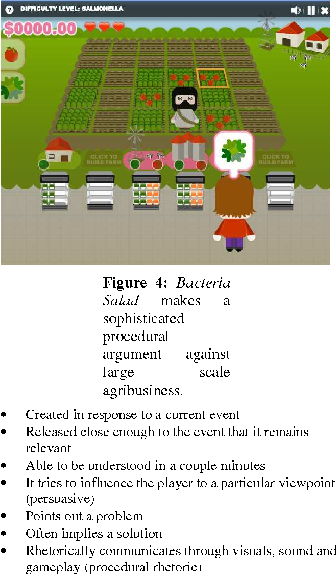 Figure 4: Bacteria Salad makes a sophisticated