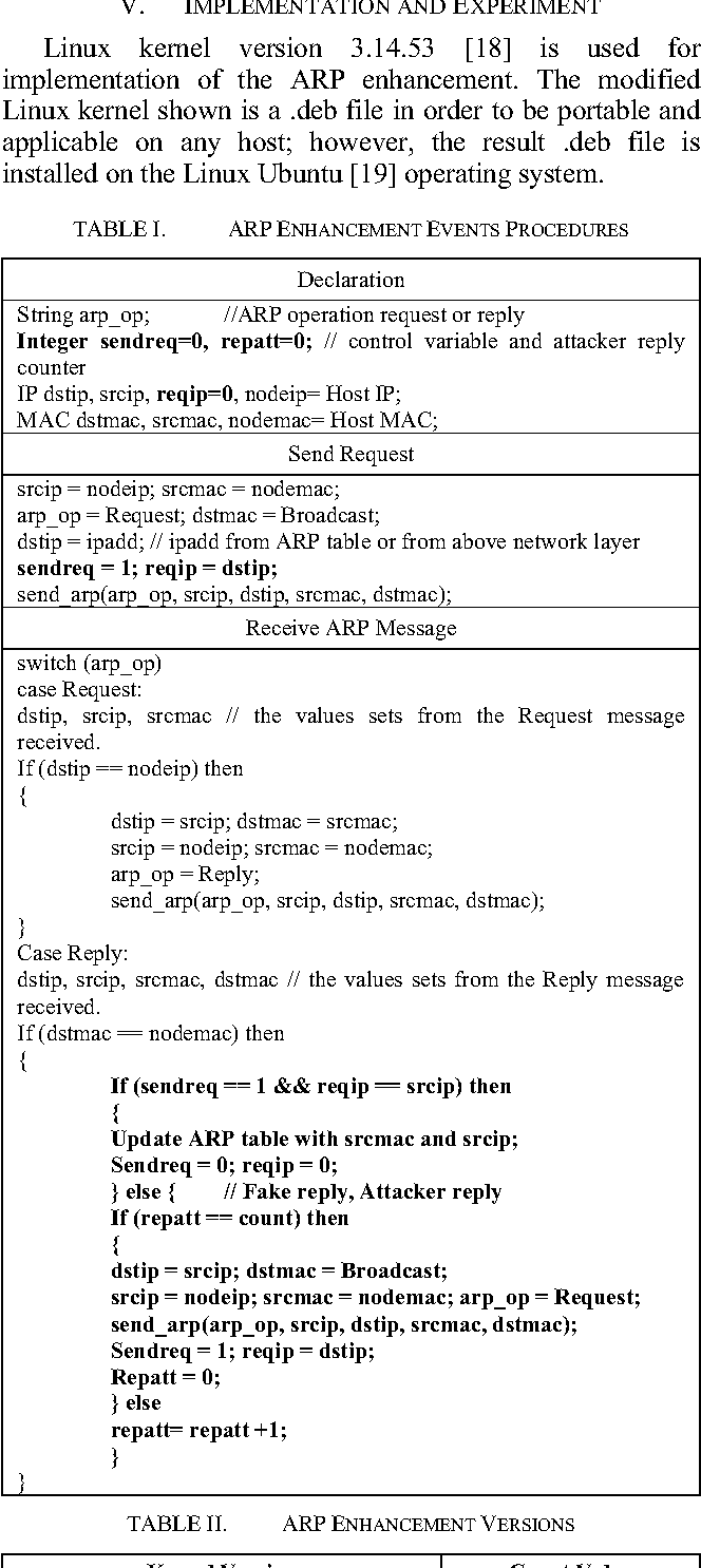 ARP Enhancement to Stateful Protocol by Registering ARP Request