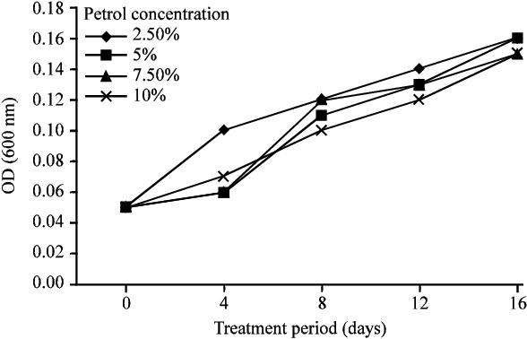 Figure 3 from Biodegradation of Petrol Using the Fungus Penicillium