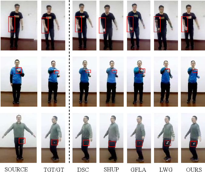 Figure 1 for A 3D Mesh-based Lifting-and-Projection Network for Human Pose Transfer