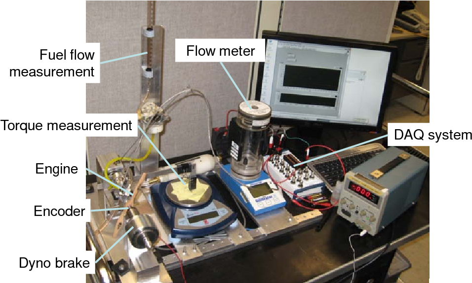 two stroke flow bench testing