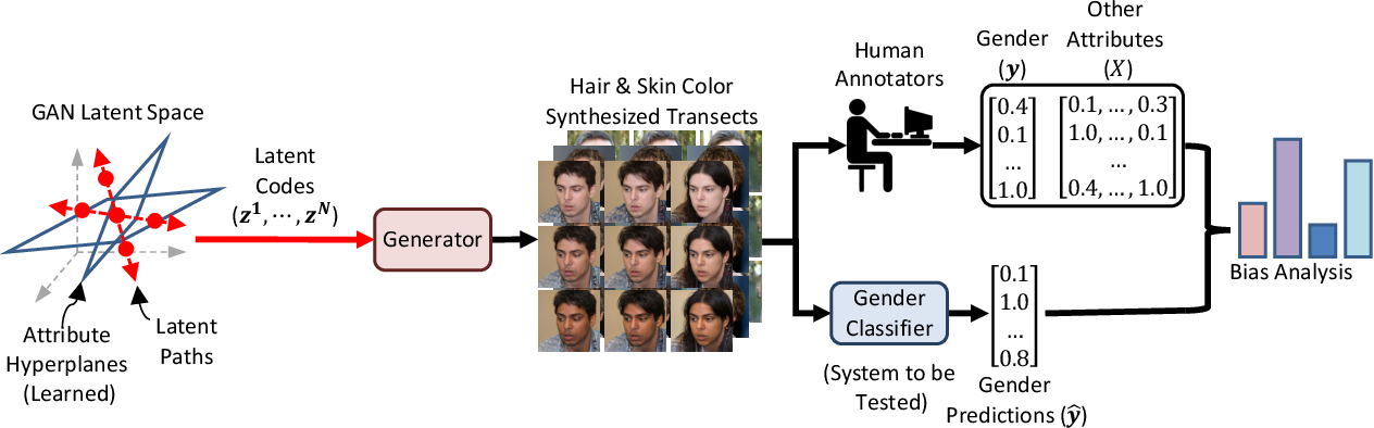Figure 2 for Towards causal benchmarking of bias in face analysis algorithms