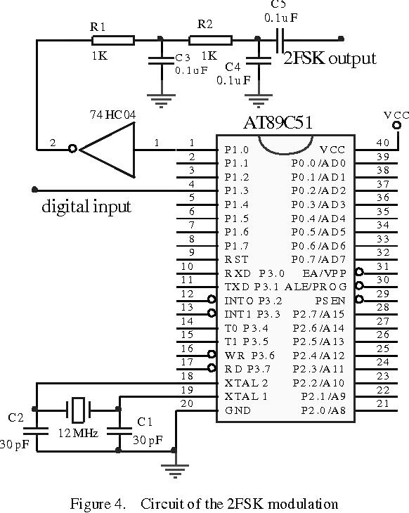 PDF] 2FSK Modem Based on the Microcontroller AT89C51 - Semantic Scholar