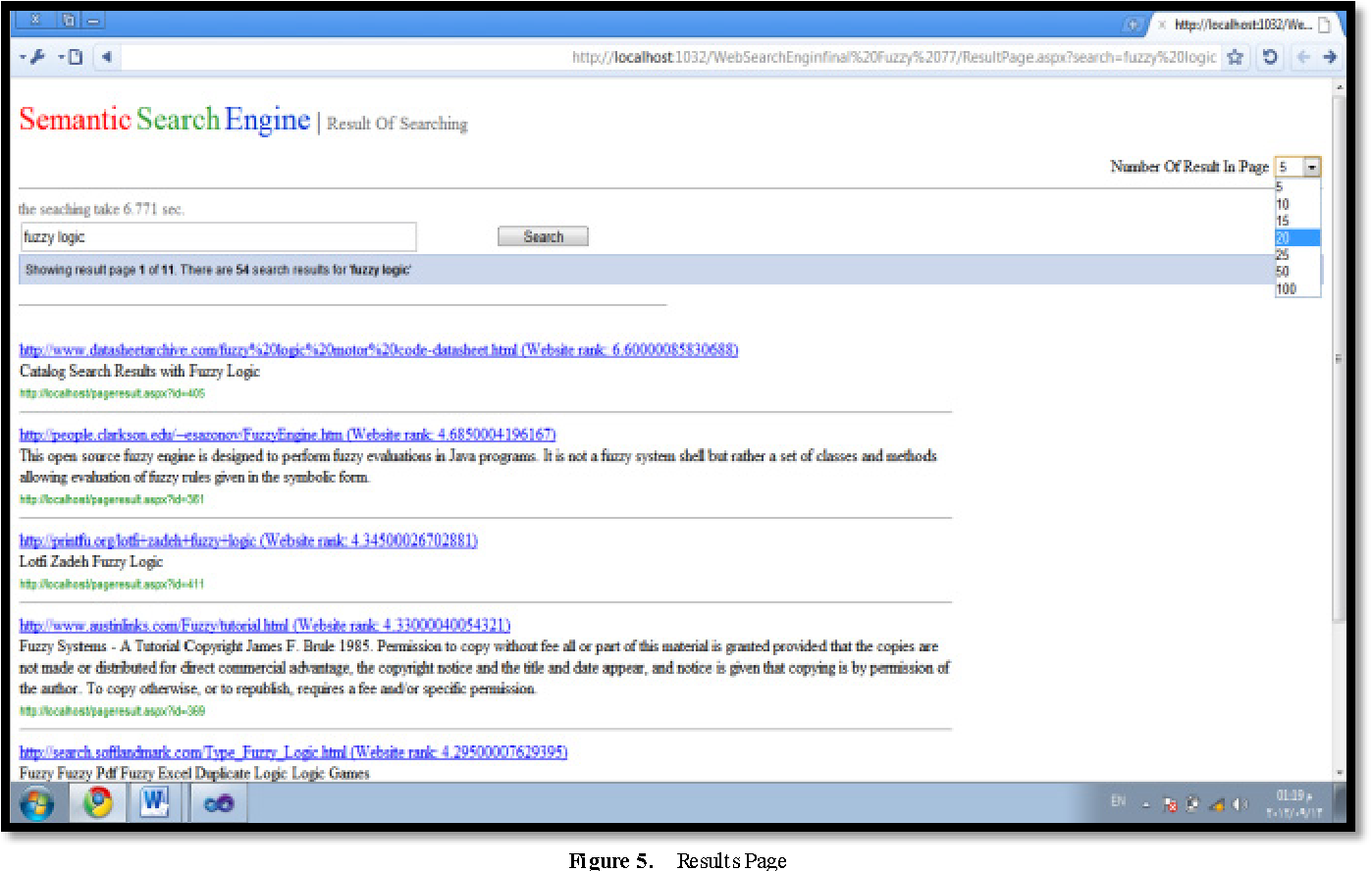 Figure 5 from Enhancing Semantic Search Engine by Using Fuzzy Logic