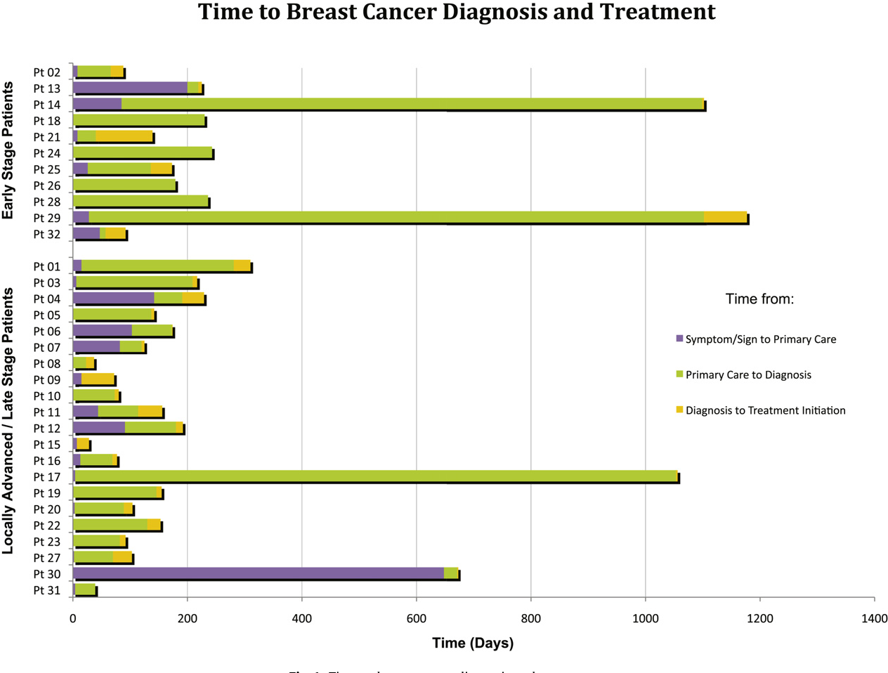 The role of health system factors in delaying final diagnosis and